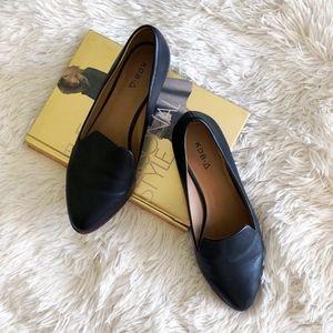KELSI DAGGER BROOKLYN black heeled loafers